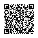 Use a QR reader to save our contact info to your smartphone.